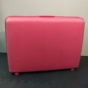Samsonite Vintage Hardcase Pink Suitcase Luggage